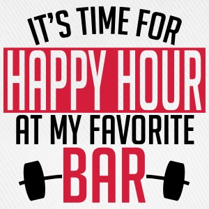 it's time for happy hour at my favorite bar A 2c Shirts - Baseball Cap