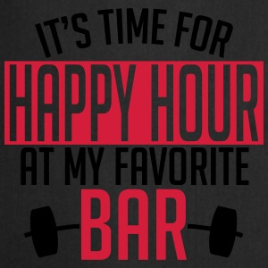 it's time for happy hour at my favorite bar A 2c Sports wear - Cooking Apron