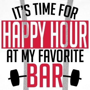 it's time for happy hour at my favorite bar A 2c Singlets - Premium hettegenser for menn
