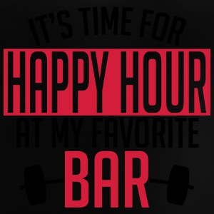 it's time for happy hour at my favorite bar A 2c Camisetas - Camiseta bebé