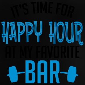 it's time for happy hour at my favorite bar B 2c Skjorter - Baby-T-skjorte