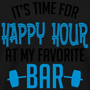 it's time for happy hour at my favorite bar B 2c Sports wear - Men's Premium T-Shirt