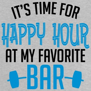 it's time for happy hour at my favorite bar B 2c Camisetas - Camiseta bebé