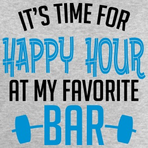 it's time for happy hour at my favorite bar B 2c Manga larga - Sudadera hombre de Stanley & Stella