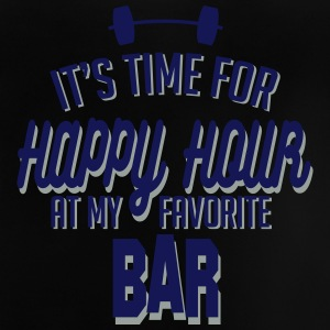 it's time for happy hour at my favorite bar C 2c Camisetas - Camiseta bebé
