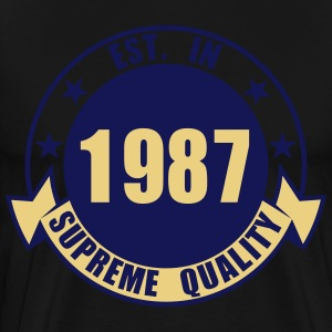 1987 Supreme  Aprons - Men's Premium T-Shirt