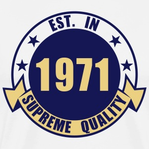 1971 Supreme Tabliers - T-shirt Premium Homme