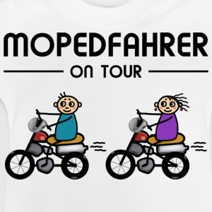 Mopedfahrer on Tour T-Shirts - Baby T-Shirt