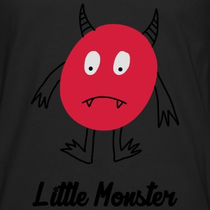 Little Monster / Baby / Bébé / Humor / Halloween Skjorter - Premium langermet T-skjorte for menn
