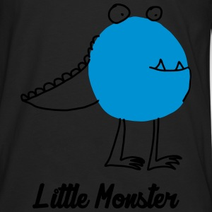 Little Monster / Baby / Bébé / Humor / Halloween Babybody - Premium langermet T-skjorte for menn