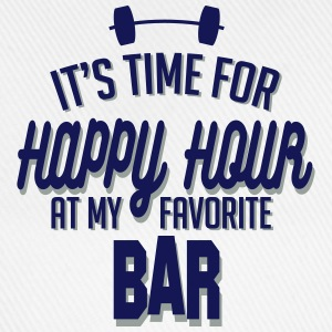 it's time for happy hour at my favorite bar C 2c Mugs & Drinkware - Baseball Cap
