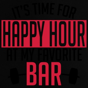 it's time for happy hour at my favorite bar A 2c Väskor & ryggsäckar - Baby-T-shirt