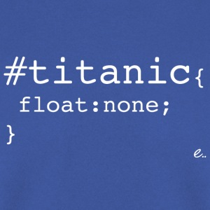 T-Shirt Homme Titanic - Sweat-shirt Homme