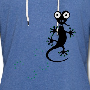 funny gecko running on your shirt, Lizard Baby Bodysuits - Light Unisex Sweatshirt Hoodie