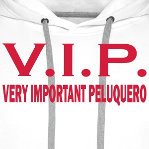 Very important peluquero T-Shirts - Men's Premium Hoodie