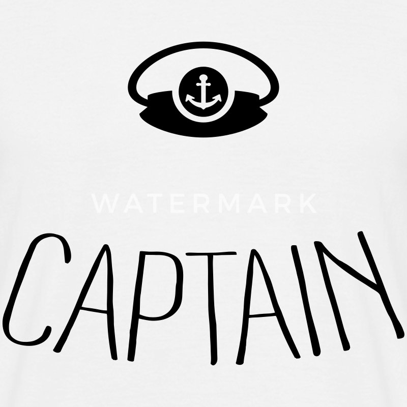 Captain Tee shirts - T-shirt Homme