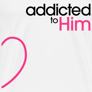 Addicted To Him Tabliers - T-shirt Premium Homme