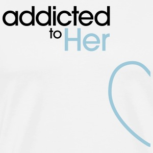 Addicted To Her Débardeurs - T-shirt Premium Homme