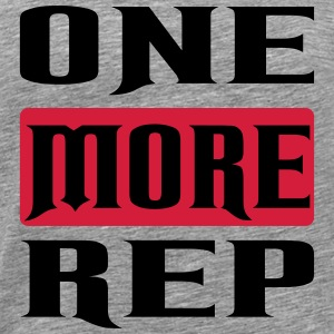 one more rep Sports wear - Men's Premium T-Shirt