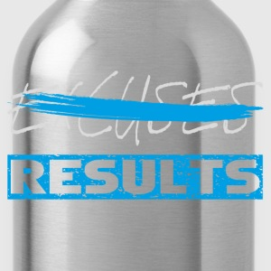 results white blue T-Shirts - Water Bottle