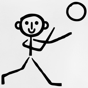 Handball stick figure Shirts - Baby T-Shirt