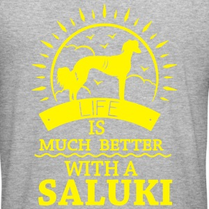 SALUKI Gensere - Slim Fit T-skjorte for menn