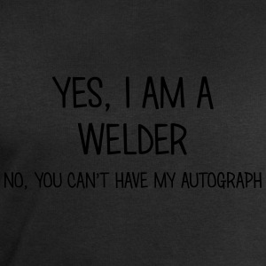 welder yes no cant have autograph t-shirt - Men's Sweatshirt by Stanley & Stella