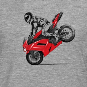 motorcycle stunt T-Shirts - Men's Premium Longsleeve Shirt