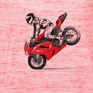 motorcycle stunt T-Shirts - Frauen Tank Top von Bella
