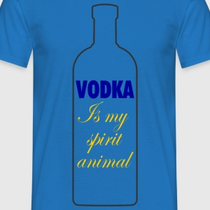 Vodka is my spirit animal - T-shirt Homme