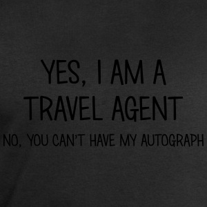 travel agent yes no cant have autograph t-shirt - Men's Sweatshirt by Stanley & Stella
