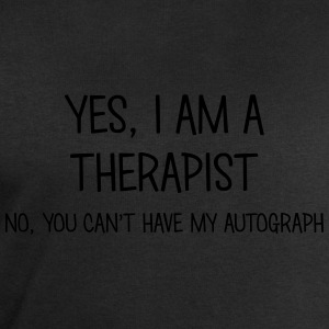 therapist yes no cant have autograph t-shirt - Men's Sweatshirt by Stanley & Stella