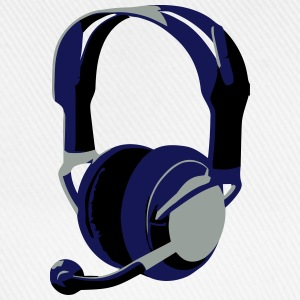 Gaming Headphones - Baseballkappe