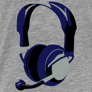 Gaming Headphones - Männer Premium T-Shirt