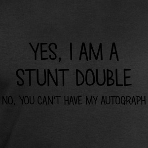 stunt double yes no cant have autograph t-shirt - Men's Sweatshirt by Stanley & Stella