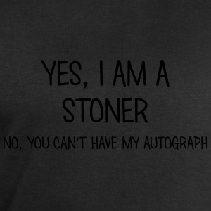 stoner yes no cant have autograph t-shirt - Men's Sweatshirt by Stanley & Stella