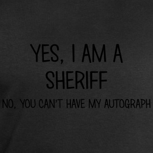 sheriff yes no cant have autograph t-shirt - Men's Sweatshirt by Stanley & Stella