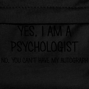 psychologist yes no cant have autograph t-shirt - Kids' Backpack