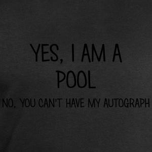 pool yes no cant have autograph t-shirt - Men's Sweatshirt by Stanley & Stella