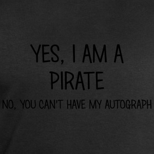 pirate yes no cant have autograph t-shirt - Men's Sweatshirt by Stanley & Stella