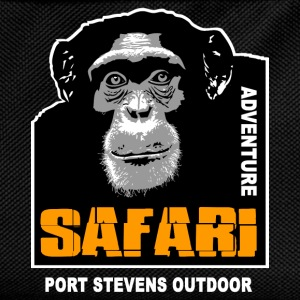Schimpanse - Chimpanzee - Safari Adventure T-Shirts - Kinder Rucksack