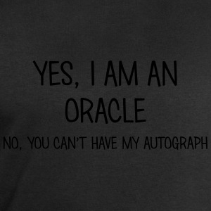 oracle yes no cant have autograph t-shirt - Men's Sweatshirt by Stanley & Stella