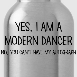 modern dancer yes no cant have autograph t-shirt - Water Bottle