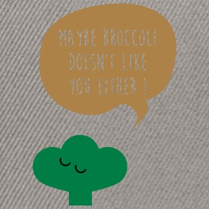 Broccoli doesn't like you Taschen & Rucksäcke - Snapback Cap