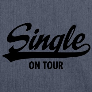 Single On Tour T-Shirts - Schultertasche aus Recycling-Material