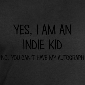 indie kid yes no cant have autograph t-shirt - Men's Sweatshirt by Stanley & Stella