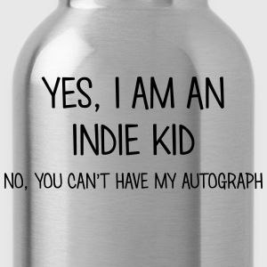 indie kid yes no cant have autograph t-shirt - Gourde