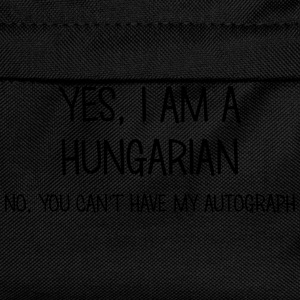 hungarian yes no cant have autograph t-shirt - Kids' Backpack