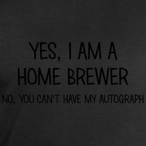 home brewer yes no cant have autograph t-shirt - Men's Sweatshirt by Stanley & Stella