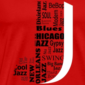 Jazz Tops - Men's Premium T-Shirt